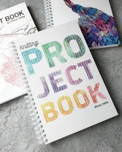 Ламинированный блокнот на пружине Project Book