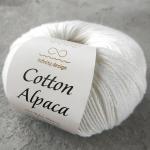 Cotton Alpaca 1002 белый