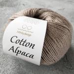 Cotton Alpaca 2652 темный капучино (холодный тон)