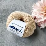 Пряжа Lana Gatto Supersoft 12530- бежевый