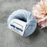 Пряжа Lana Gatto Supersoft 12260 голубой с серой дымкой