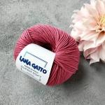Пряжа Lana Gatto Supersoft 13333 розовый брусничный