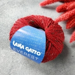 Пряжа Lana Gatto Everest 19246 красный