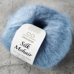 SILK MOHAIR 6052 джинсовый голубой