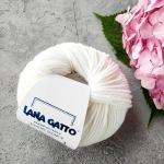 Пряжа Lana Gatto Maxi Soft 10001-белый