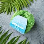 Пряжа Lana Gatto  Itaca 8671 сочная зелень