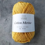 COTTON MERINO 2206 медовая горчица