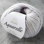 Aquarelle 1015 серый с голубой дымкой