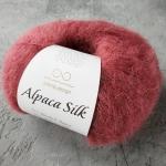 Alpaca Silk 4344 матовый винный