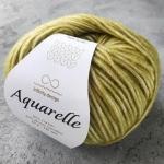 Aquarelle 9544 оливково-зеленый