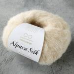 Alpaca Silk 1012 натуральный (молочный)