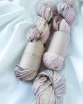 KOKO WOOL 3 пудра с сиренево-розовые крапушки