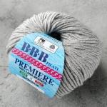 Пряжа BBB Premiere 302 светло-серый