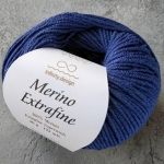 Merino Extrafine 6052 джинсовый синий