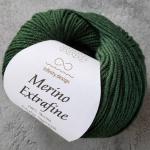 Merino Extrafine 8072 зеленый лесной